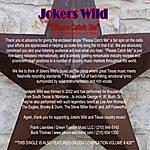 Joker's Wild Please Catch Me