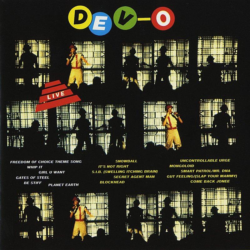 Cover Art: Devo Live