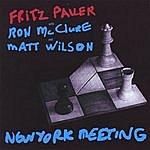 Fritz Pauer Trio New York Meeting
