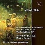 Evgeny Svetlanov Mikhail Glinka: Overtures And Orchestral Pieces
