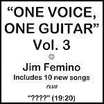 Jim Femino One Voice, One Guitar - Vol. 3