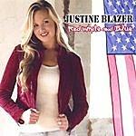 Justine Blazer Red White And Blue