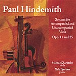 Michael Zaretsky Paul Hindemith Sonatas For Accompanied And Unnacompanied Viola Opp.11 And 25