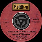 Brook Benton Don't It Make You Want To Go Home / I've Gotta Be Me [Digital 45]