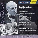 Carl Schuricht Grieg: In Autumn / Bruch: Violin Concerto No. 1 / Goetz: Violin Concerto (1952 / 1953 / 1954 / 1960)