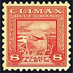 Climax Blues Band Stamp Album
