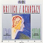 Ian Partridge Britten, B.: Songs From The Chinese / Nocturnal After John Dowland / Berkeley, L.: Theme And Variations / Songs Of The Half-Light (Partridge)