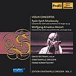 David Oistrakh Tchaikovsky, P.i.: Violin Concerto / Mozart, W.a.: Violin Concerto No. 5 (D. Oistrakh, Konwitschny) (Staatskapelle Dresden Edition, Vol. 3)