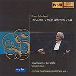 "Sir Colin Davis Schubert, F.: Symphony No. 9, ""great"" (C. Davis) (Staatskapelle Dresden Edition, Vol. 7)"