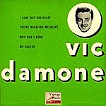 "Vic Damone Vintage Vocal Jazz / Swing Nº 47 - Eps Collectors, ""you're Breaking My Heart"""