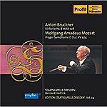 """Dresden Staatskapelle Bruckner, A.: Symphony No. 8 / Mozart, W.a.: Symphony No. 38, """"prague"""" (Haitink) (Staatskapelle Dresden Edition, Vol. 24)"""