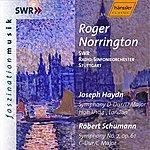 """Sir Roger Norrington Haydn: Symphony No. 104, """"london"""" / Schumann: Symphony No. 2"""