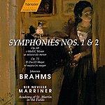 Neville Marriner Brahms: Symphony No. 1 In C Minor, Op. 68 / Symphony No. 2 In D Major, Op. 73