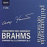 Christoph Von Dohnanyi Brahms Symphony No. 2 & Symphony No. 4
