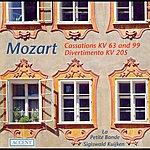 La Petite Bande Mozart, W.a.: Cassations - K. 63, 99 / March In D Major / Divertimento In D Major (La Petite Bande, Kuijken)