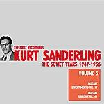 Kurt Sanderling Kurt Sanderling - TII.IV.'Jhe Soviet Years, Vol. 5, Mozart