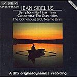 Neeme Järvi Sibelius: Oceanides (The), Op. 73 / Symphony No. 4 In A Minor, Op. 63