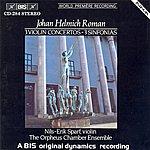Nils-Erik Sparf Roman: 3 Violin Concertos / 3 Sinfonias