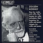 Nils-Erik Sparf Kodaly: Duo For Violin And Cello / Cello Sonatas / Adagio For Cello