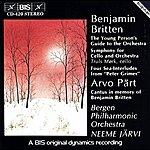 Neeme Järvi Britten: Orchestral Music