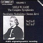 Neeme Järvi Gade: Complete Symphonies, Vol. 3
