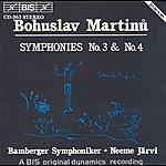 Neeme Järvi Martinu: Symphonies Nos. 3 And 4