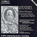 Anne Sofie Von Otter Handel: Dixit Dominus/Concerto Grosso In G Minor