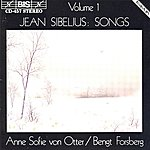 Anne Sofie Von Otter Sibelius: Songs, Vol. 1