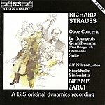 Neeme Järvi Strauss, R.: Oboe Concerto / Der Burger Als Edelmann Orchestersuite (Nilsson, Stockholm Sinfonietta, Jarvi)