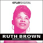 Ruth Brown Teardrops From My Eyes - 4 Track EP