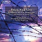 Thomas Sanderling Kletzki: Symphony No. 3 / Concertino For Flute
