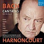 Nikolaus Harnoncourt Bach: Cantatas BWV 29, 61 & 140