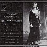 Renata Tebaldi Legendary Performances Of Renata Tebaldi