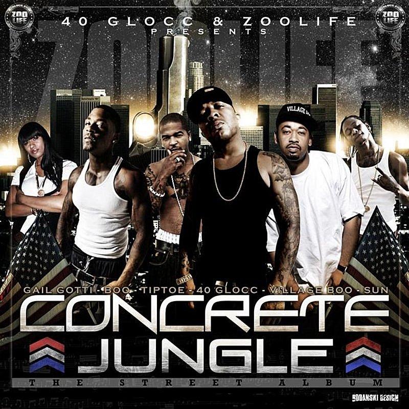 Cover Art: Concrete Jungle