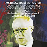 Mstislav Rostropovich Prokofiev : Symphony No.2 & Symphony-Concerto For Cello & Orchestra (Maestro)