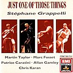 Stéphane Grappelli Just One Of Those Things