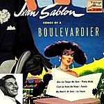 """Jean Sablon Vintage French Song Nº 62 - Eps Collectors, """"Songs Of A Boulevardier"""""""