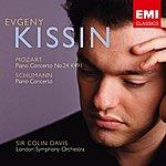 Evgeny Kissin Schumann Concerto, Mozart Concerto No 24