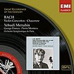 Yehudi Menuhin Bach: Violin Concertos, Chaconne
