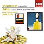 André Previn Shostakovich: Symphony No.4, Britten: Four Sea Interludes