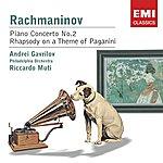 Andrei Gavrilov Rachmaninov: Piano Concerto No. 2 & Rhapsody On A Theme Of Paganini