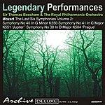Sir Thomas Beecham Mozart: The Last 6 Symphonies Vol. 2 - Legendary Performances