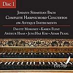 Davitt Moroney Complete Harpsichord Concertos On Antique Instruments - Disc 1