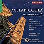 Gianandrea Noseda Dallapiccola, L.: Orchestral Music, Vol. 2 - Partita / Dialoghi / Three Questions With Two Answers (Bbc Philharmonic, Noseda)