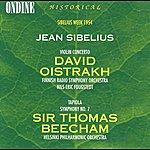 David Oistrakh Sibelius, J.: Violin Concerto In D Minor / Tapiola / Symphony No. 7 (1954) (Oistrakh)
