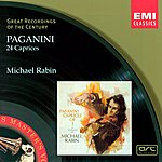 Michael Rabin Paganini: 24 Caprices For Solo Violin