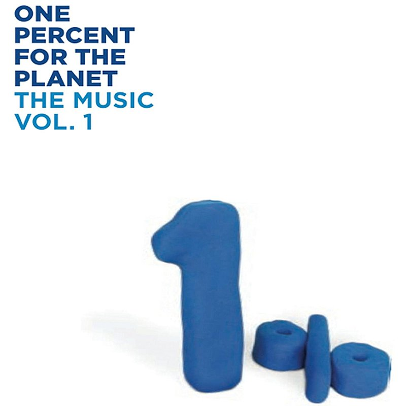 Cover Art: 1% For The Planet, The Music (Vol. 1)