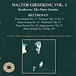 Walter Gieseking Beethoven: The Piano Sonatas, Vol. 3