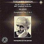 Arturo Toscanini Brahms: Symphony No. 2 & Symphony No. 4