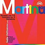 Prague Symphony Orchestra Martinu: Cello Sonatas No. 1-3